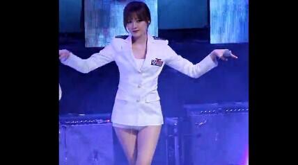 韩国9muses组合 长腿热舞 饭拍高清
