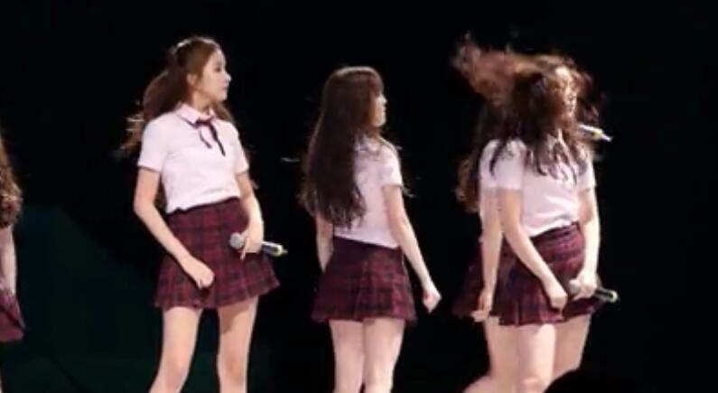 韩国女团GFriend 性感热舞 饭拍视频