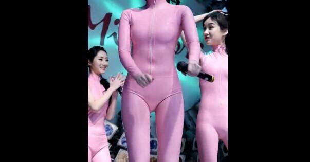 韩国女团Six Bomb瑜晶 香肠紧身衣 邪恶饭拍视频
