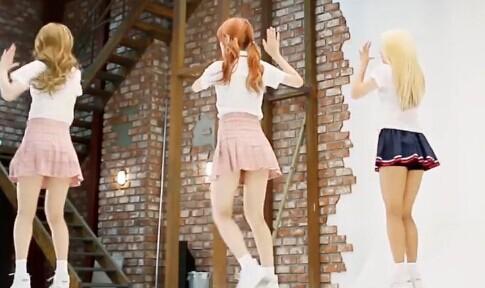 韩国女团 Baby Boo 可爱萌 热舞