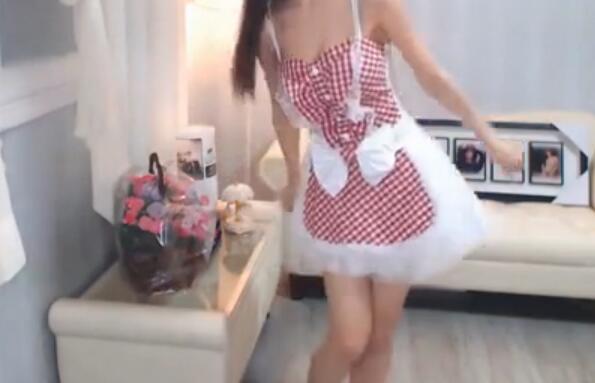 韩国美女主播 崔瑟琪 女仆 兔子歌