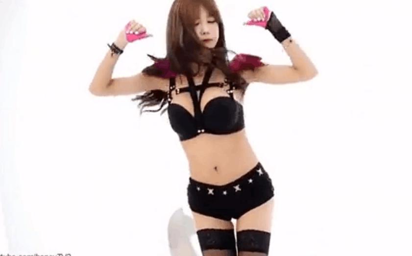 韩国美女主播 许允美 - Hot Pink(EXID) 性感舞