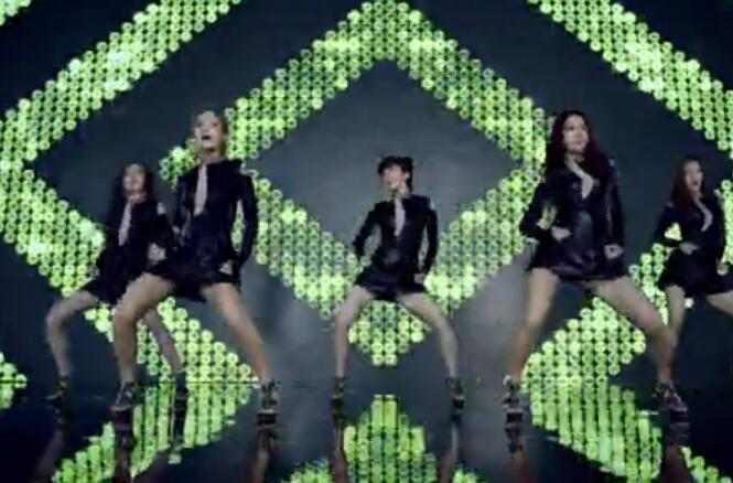 MV:韩国女团大长腿 性感热舞 Love Sick'