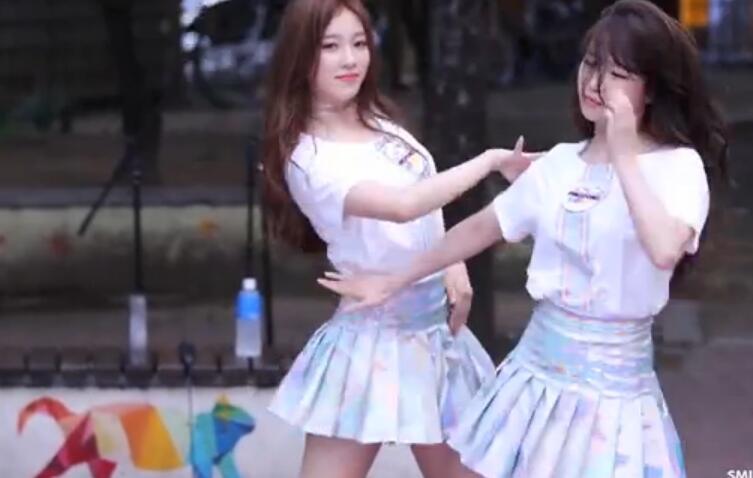 韩国女团 热舞  性感漂亮 美翻了