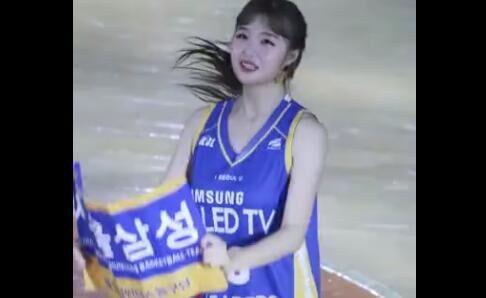 韩国美女 啦啦队 运动型妹子