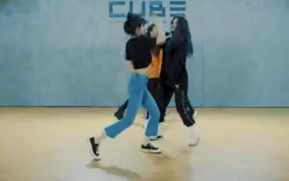 韩国女团 (G)I-DLE - Senorita  练习室版