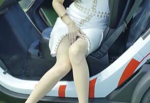 韩国车模小姐姐 性感大美腿