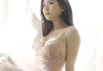 韩国美女写真集 你们的距离隔层纱