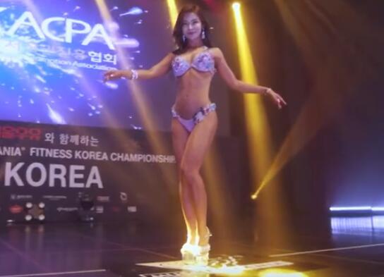 2019 韩国小姐 健美大赛 Bikini  比基尼