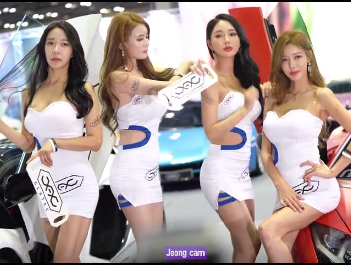 韩国女模特 四个性感包臀大美女