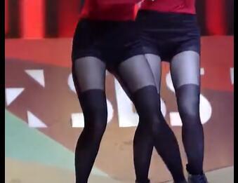 韩国女团系列 stellar 朱敏希 短裤+黑丝 热舞