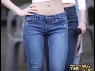 韩国女团 Dal Shabet 紧身牛仔裤 热舞