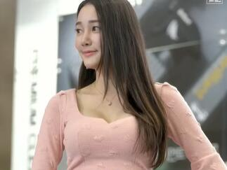 韩国美女车模 李佳恩 2020首尔汽车展
