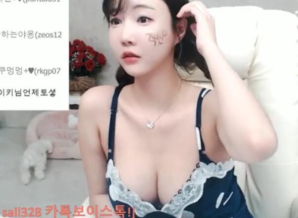 韩国女主播 雪莉gksk4998 睡裙小吊带