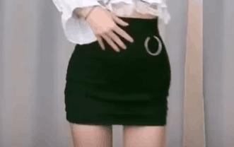 韩国美女主播 全书亨 黑色短裙 热舞