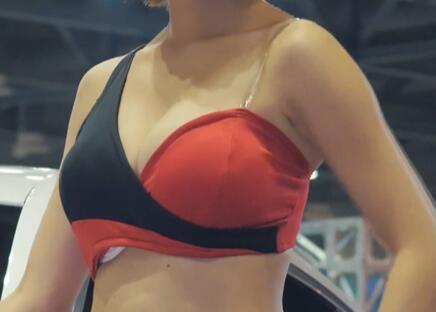 汽车车展 : 韩国气质美女小姐姐模特