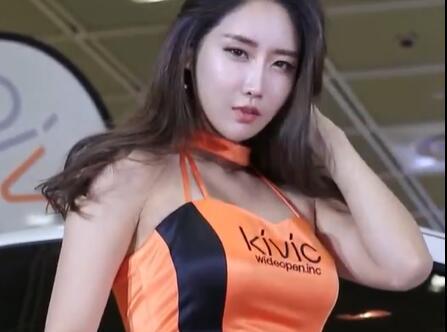 韩国优雅气质美女车模 包臀+肉丝