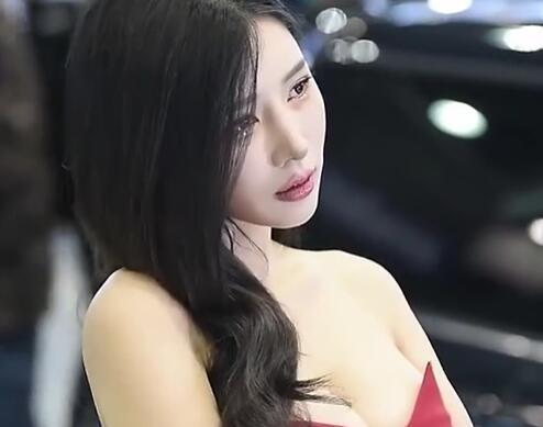 韩国美女车模 宋姝儿 就这眼神 爱了爱了