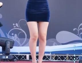 韩国美女 洪真英 包臀 丰满界女神