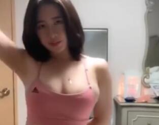 韩国女主播 AfreecaTV BJ闪闪 福利视频 吊带+紧身裤
