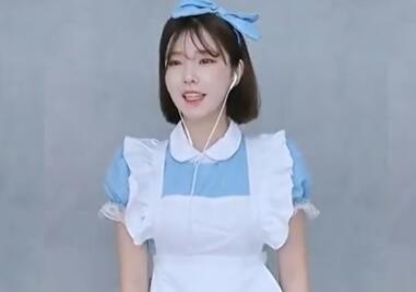 韩国女主播 蔡媛 BJ 漂亮女仆装热舞