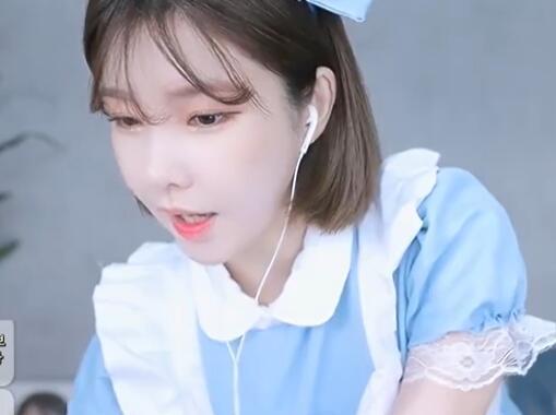 韩国女主播 蔡媛 BJ 可爱女仆装