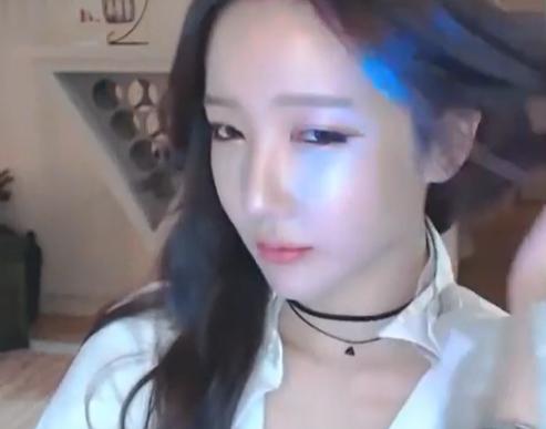 韩国女主播-朴妮唛 原来也会跳舞