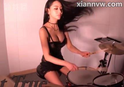 韩国美女鼓手A-YEON雅妍不雅视频种子疯传 Sad But True [Metallica]