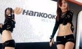 hankook 黑色短裙美女热舞