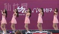 韩女团热舞饭拍视频 GFriend - ONE 151025 光州Y'Z公园