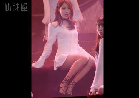 Nine Muese朴景丽 - Sleepless Night 韩女团热舞饭拍视频合集