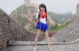 微小微仙女FM美少女战士制服短裙热舞