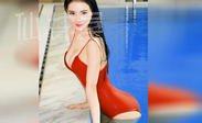 上海交大校花女神吴丹泳装写真视频 比基尼性感写真大秀傲人上围