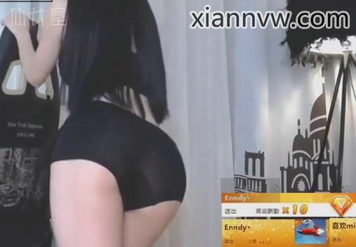 斗鱼郭mini性感电臀热舞视频 透明短裤漏鲍鱼福利片段