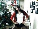 韩国bj圣诞节崔丽美 跳舞