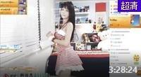 斗鱼韩国美女主播韩佳恩直播视频11月19日 露肩连衣短裙美腿
