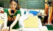 韩国af女主播朴娜娜 绿短袖短裙sex热舞53