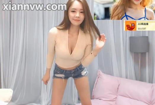 人美奶靓 韩国女团PPL柳真牛仔热裤热舞 熊猫TV直播录像2016.4.4