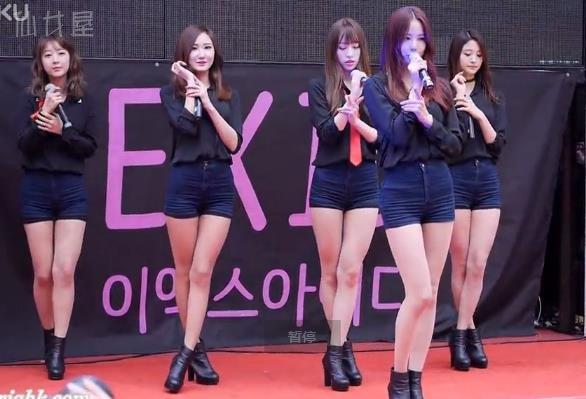 韩女团热舞饭拍 EXID - Whoz That Girl 20151121